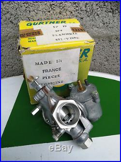 N. O. S carburateur GURTNER SP19 SP 19 FLANDRIA cyclosport mobylette carbu