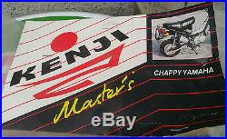 N. O. S echappement KENJI MASTER'S YAMAHA CHAPPY mobylette